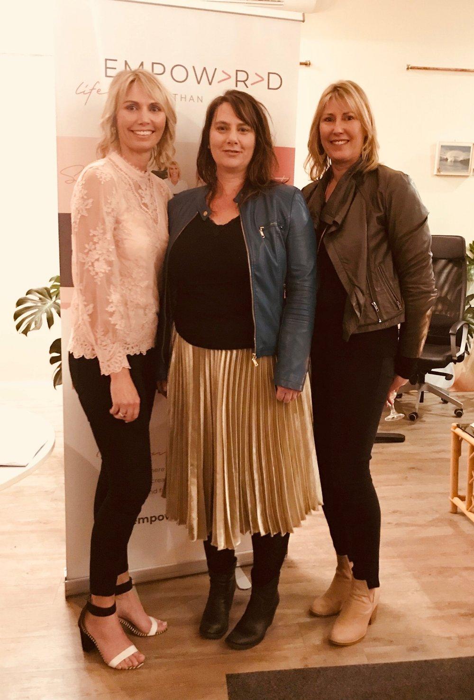 Trish, Deb & Amanda