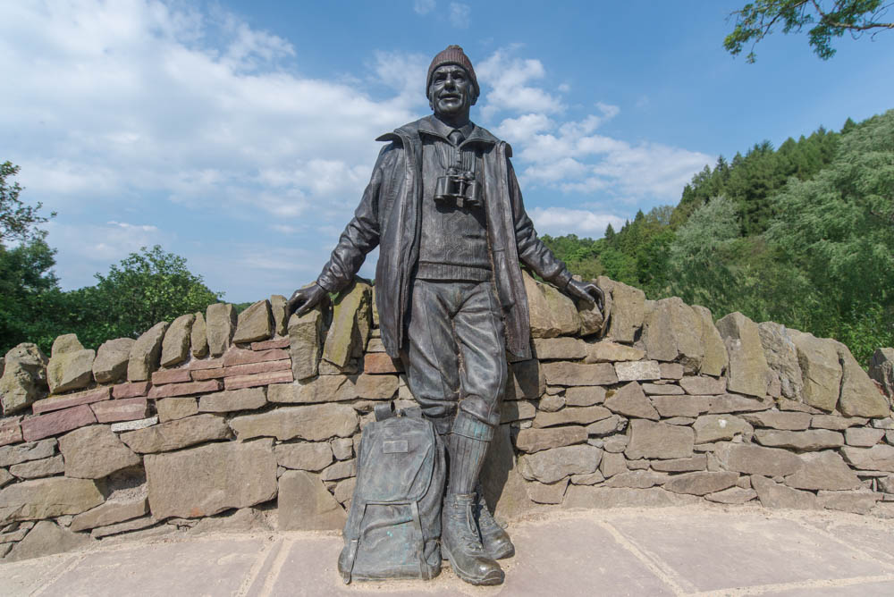 The Tom Weir Statue, Balmaha Bay, Loch Lomond