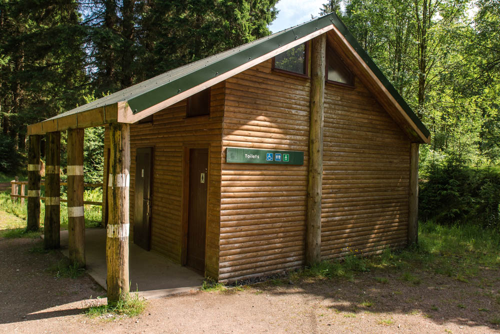 Loch Drunkie Toilets