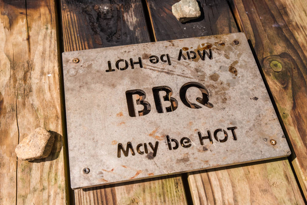 Loch Drunkie BBQ Facilities