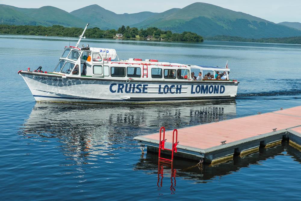Cruise Loch Lomond, Island Cruise