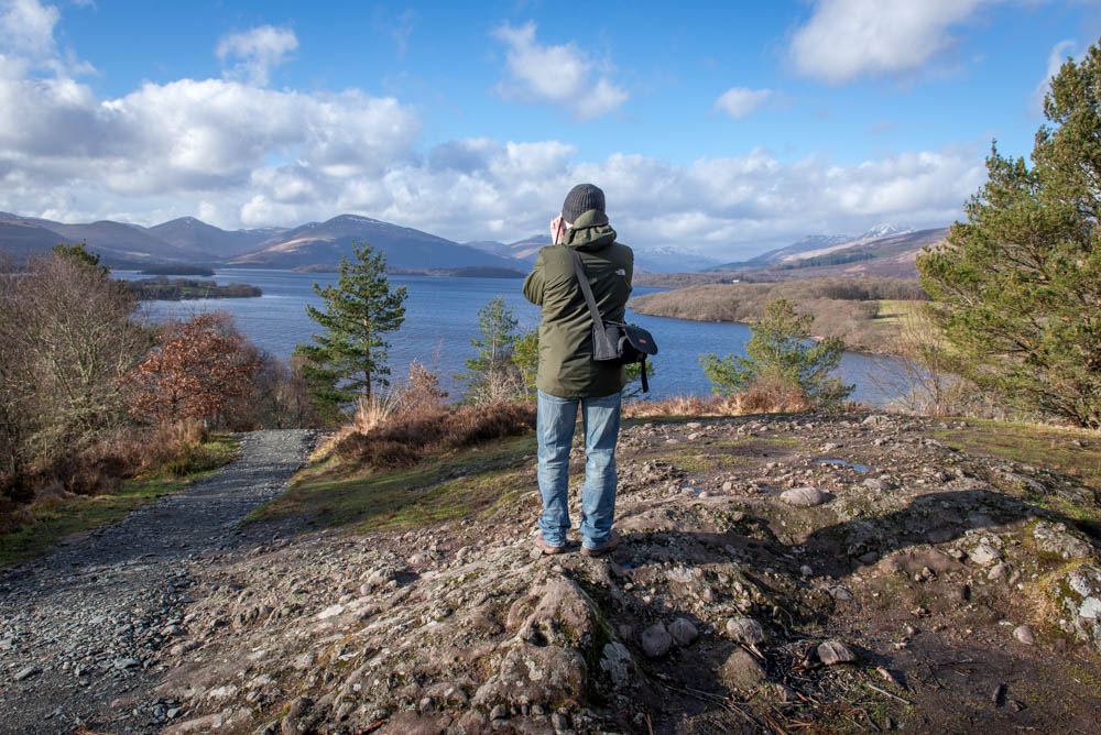 Photography Training Courses in Loch Lomond. Learn how to take control of your camera to take better photographs. Capture beautiful photographs of Loch Lomond.