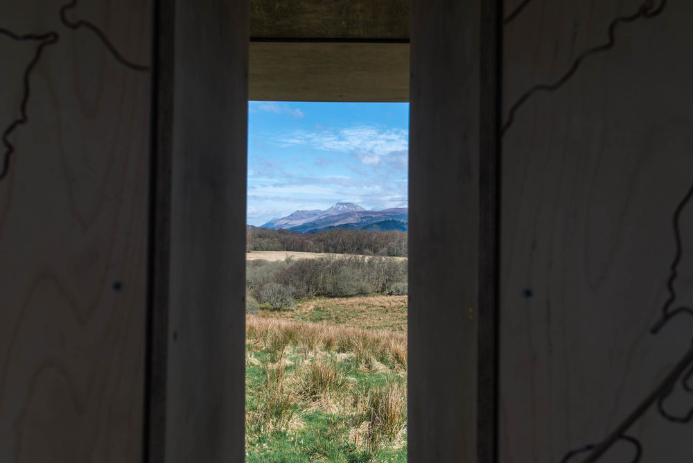 RSPB Gartocharn Ben Lomond Viewpoint