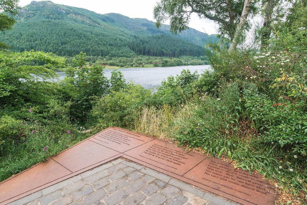 Sloc nan Sitheanach'faeries hollow, Loch Lubnaig