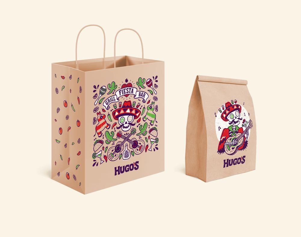 Hugo's package design