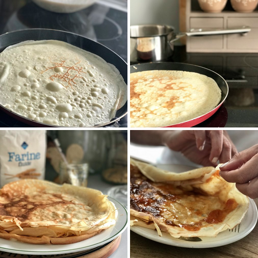 Classic french crêpes ... simpler to make than you think!