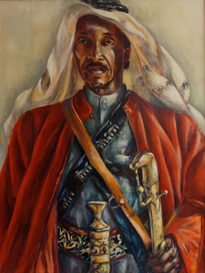 Al Khawi, 1990, Oil on canvas, 98 x 72.5 cm