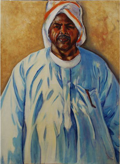 Izzadin, 1989, Oil on canvas, 99 x 73.5 cm