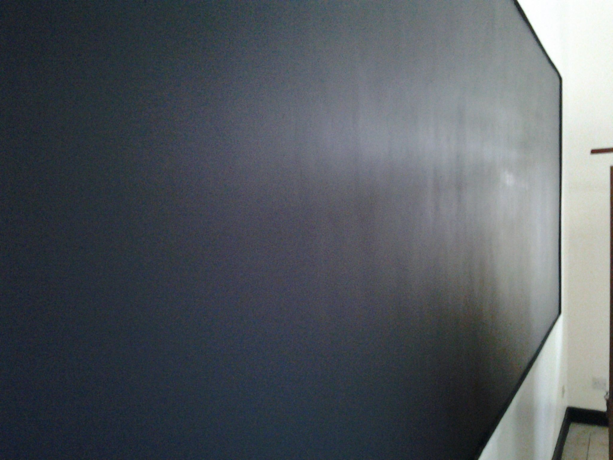 Buguruni classroom finished BLACKBOARD