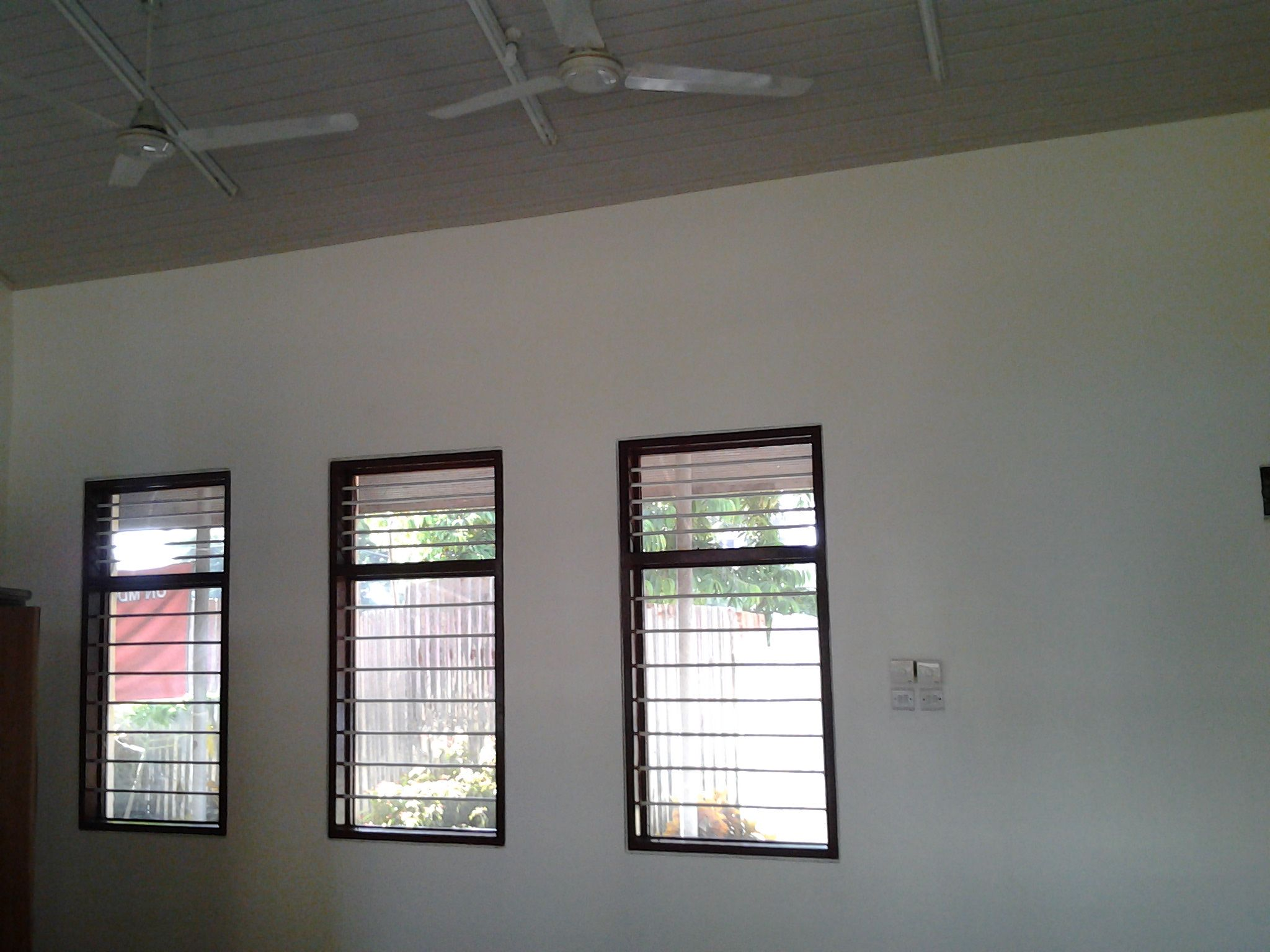 Buguruni classroom finished WINDOWS AND CEILING