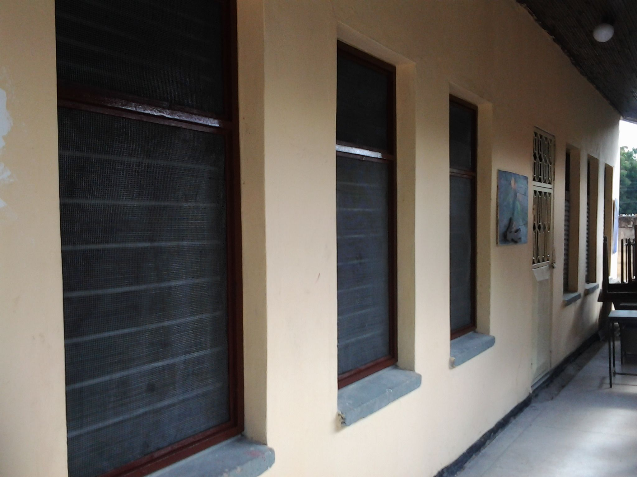 Buguruni classroom finished WINDOW FRAMES BARS AND SCREENING