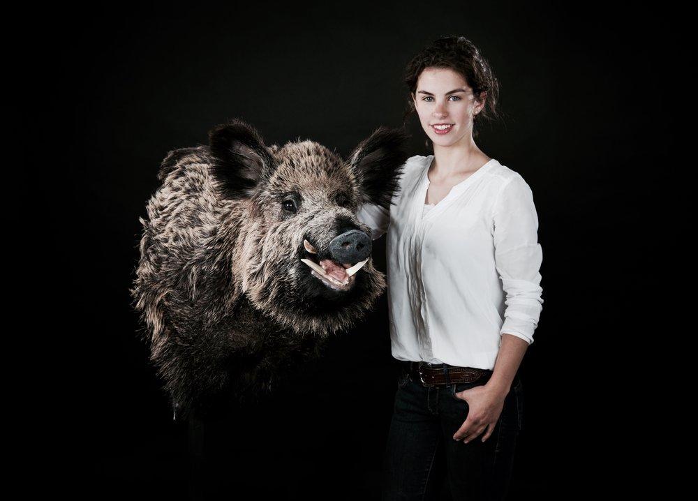 Sophia Tegel - Tierpräparation
