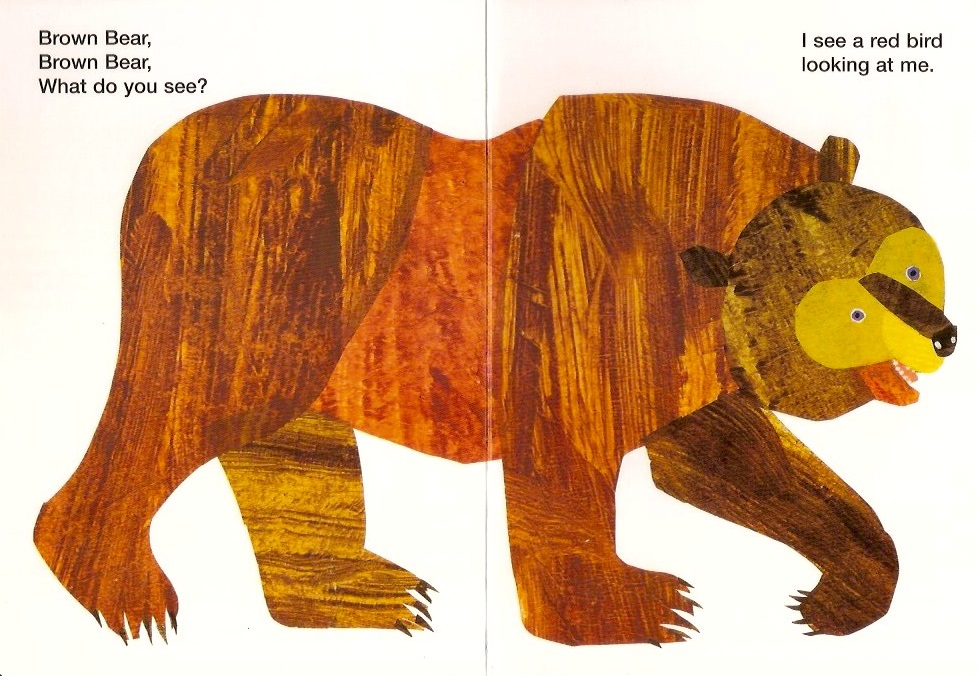 Brown bear page 1