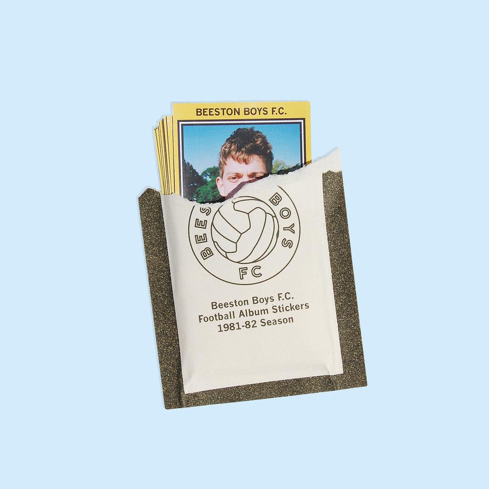 Football album stickers