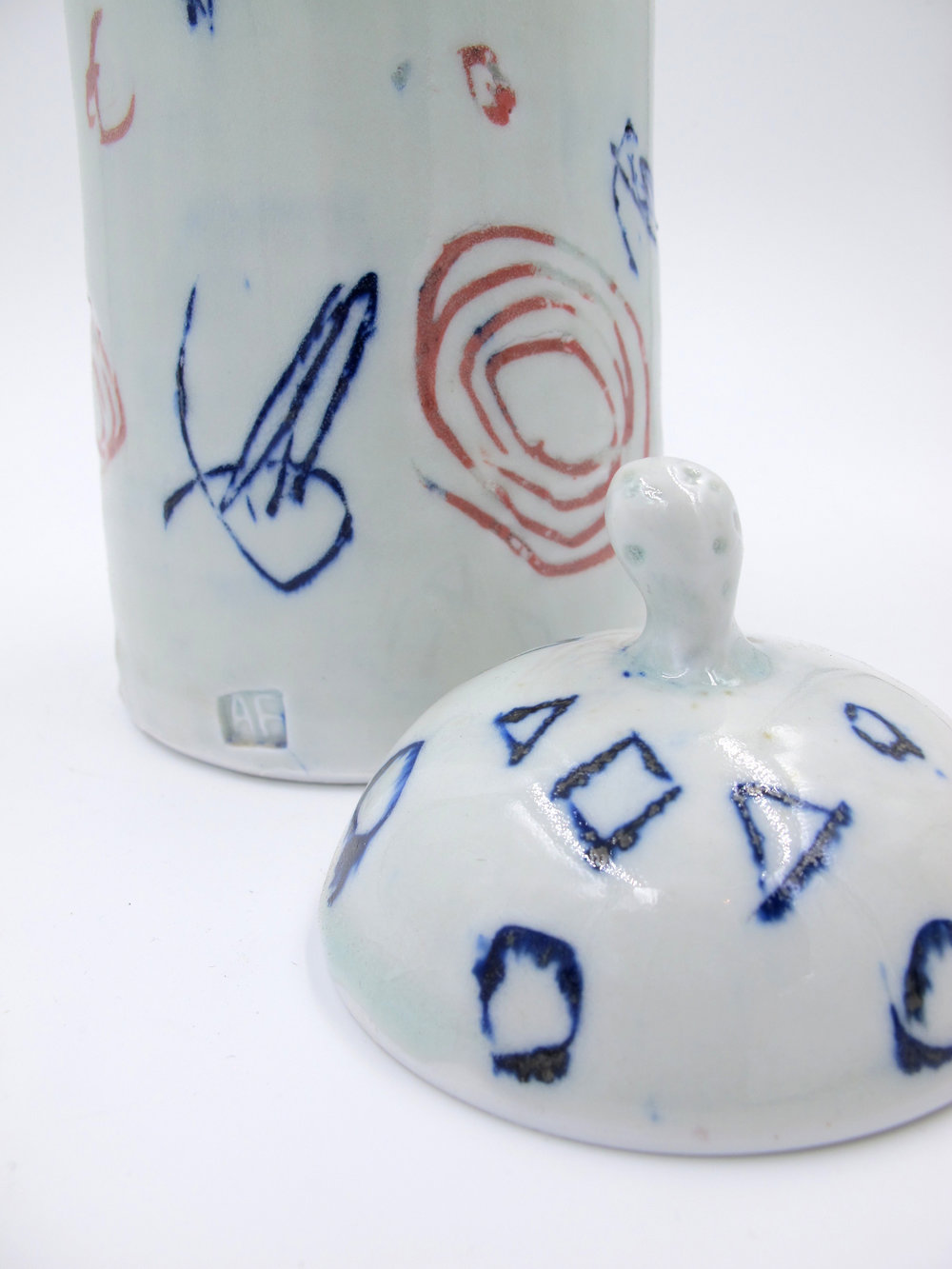 Porcelain Pottery by Adam Frew