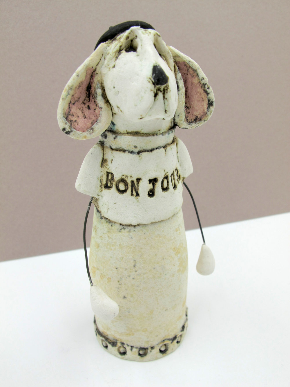 Playful ceramic sculptures by Jean Tolkovsky