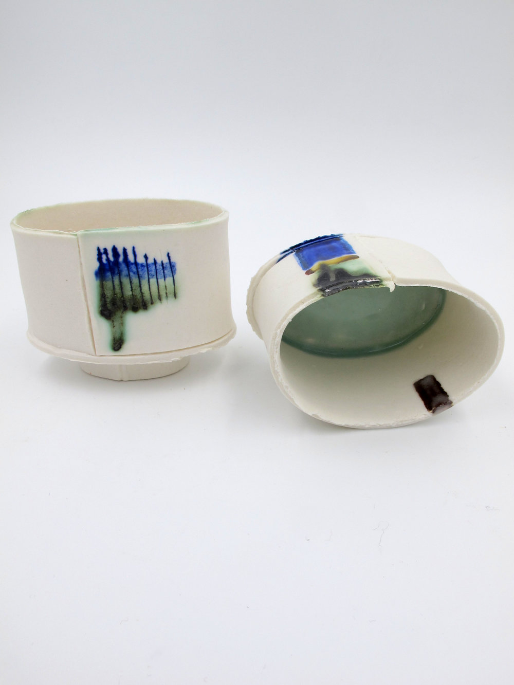 Porcelain tea vessels from Jane Prichard