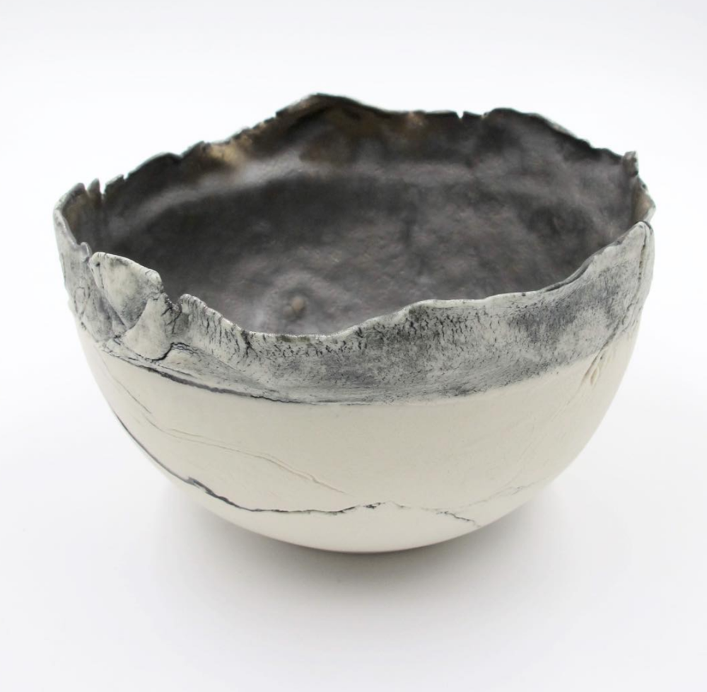 Porcelain bowl by Nicola Briggs