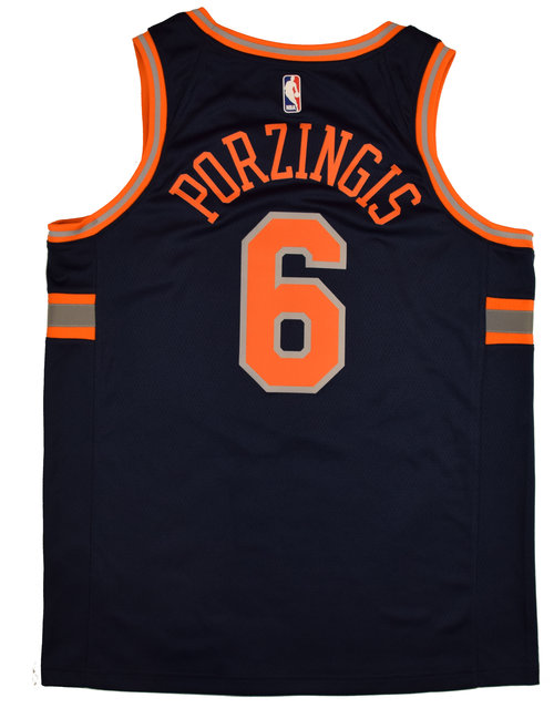 1cdd22a21ff9 38. 2018 New York Knicks City Edition - No. 6 Kristaps Porzingis ...