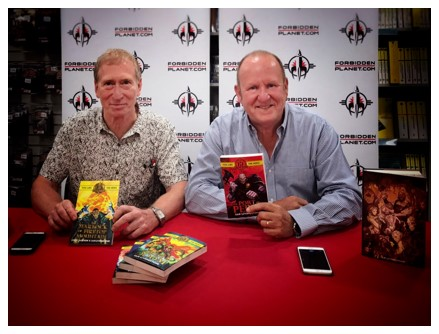 Steve Jackson and Ian Livingstone