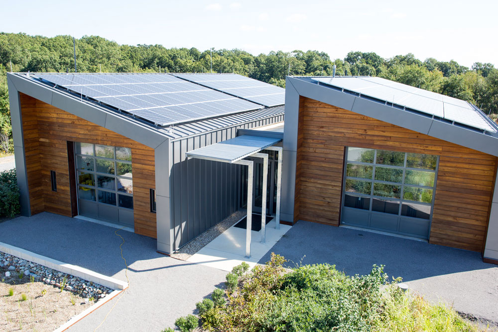 The LEED Platinum-designated Field Lab