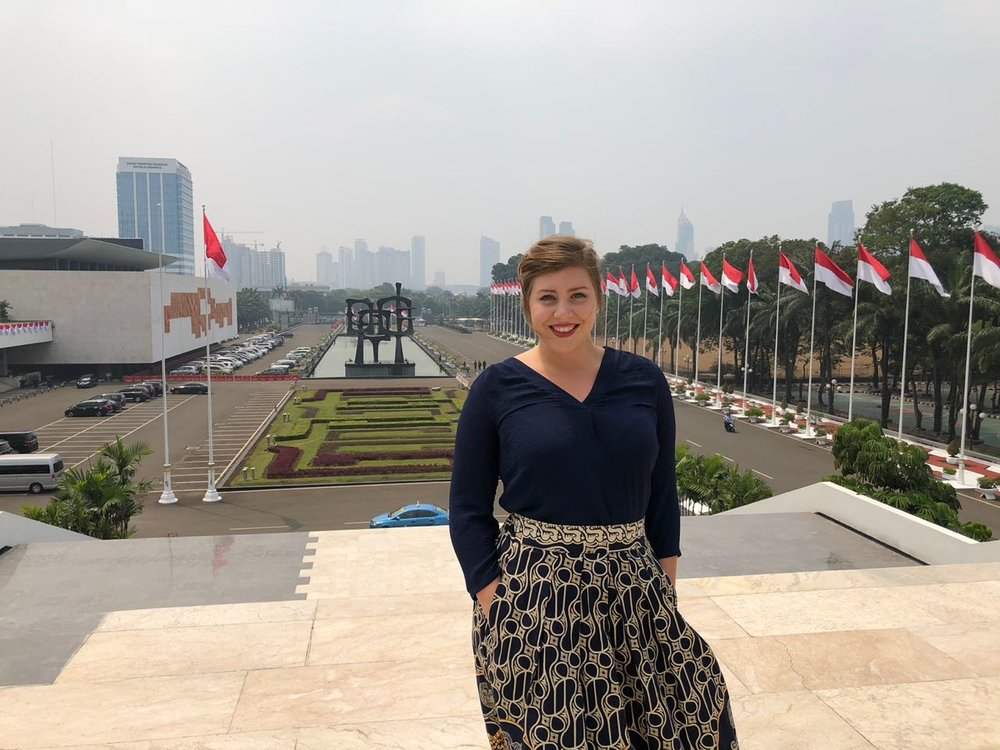 O'Donnell in Jakarta, Indonesia
