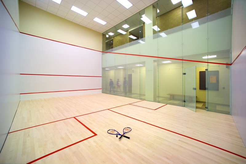 Check out Chatham's squash courts in the Athletic Fitness Center