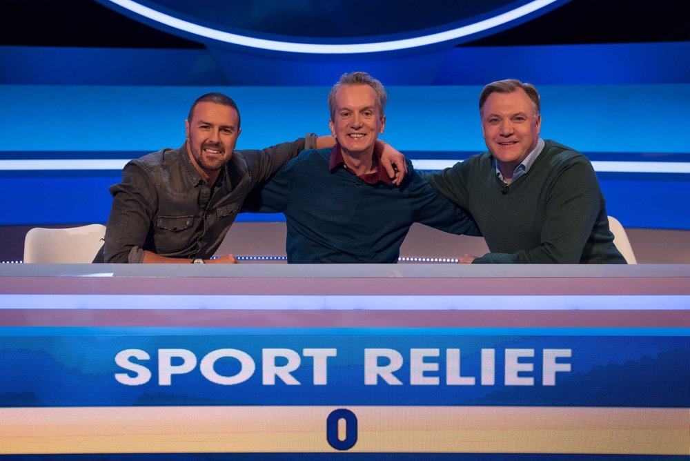 A QUESTION OF SPORT RELIEF - BBC TWO, MAR 2018