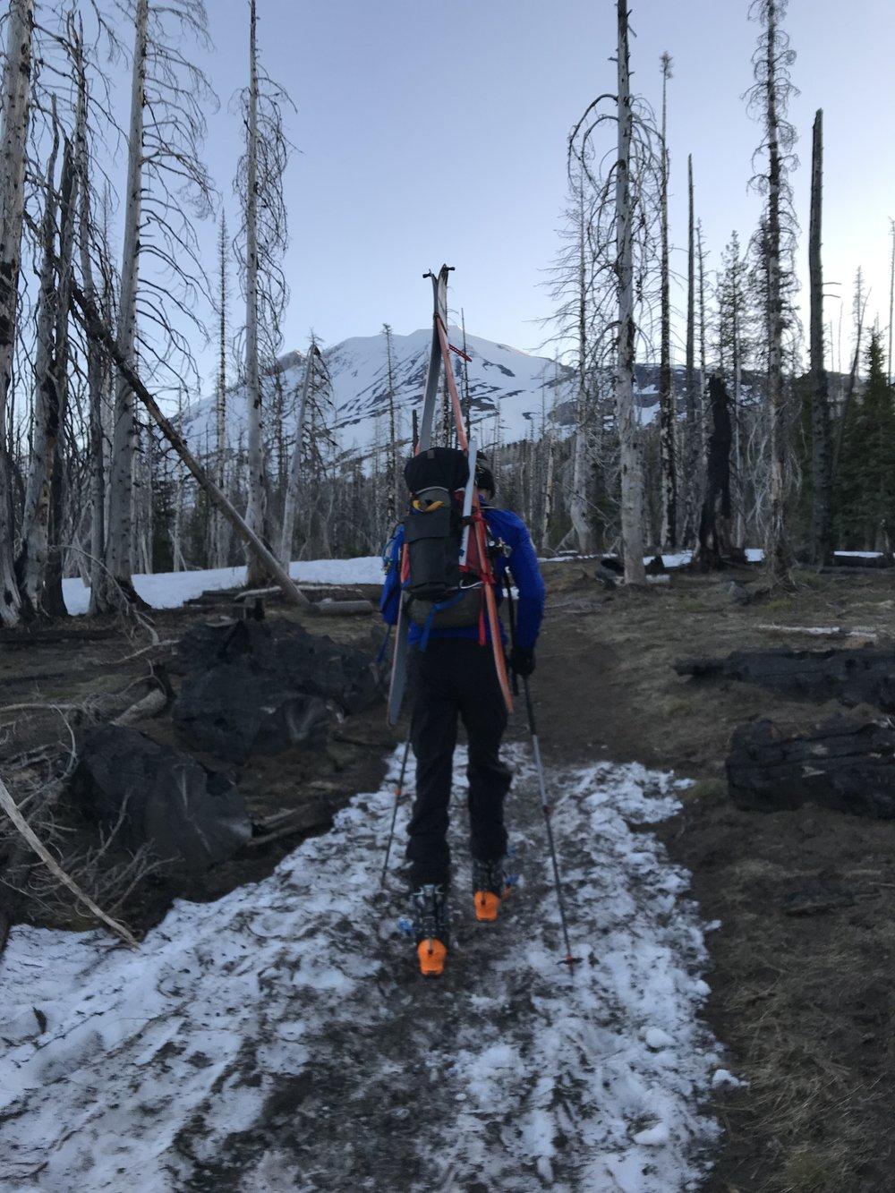 7k feet to go - South Climb Trail #180, Washington