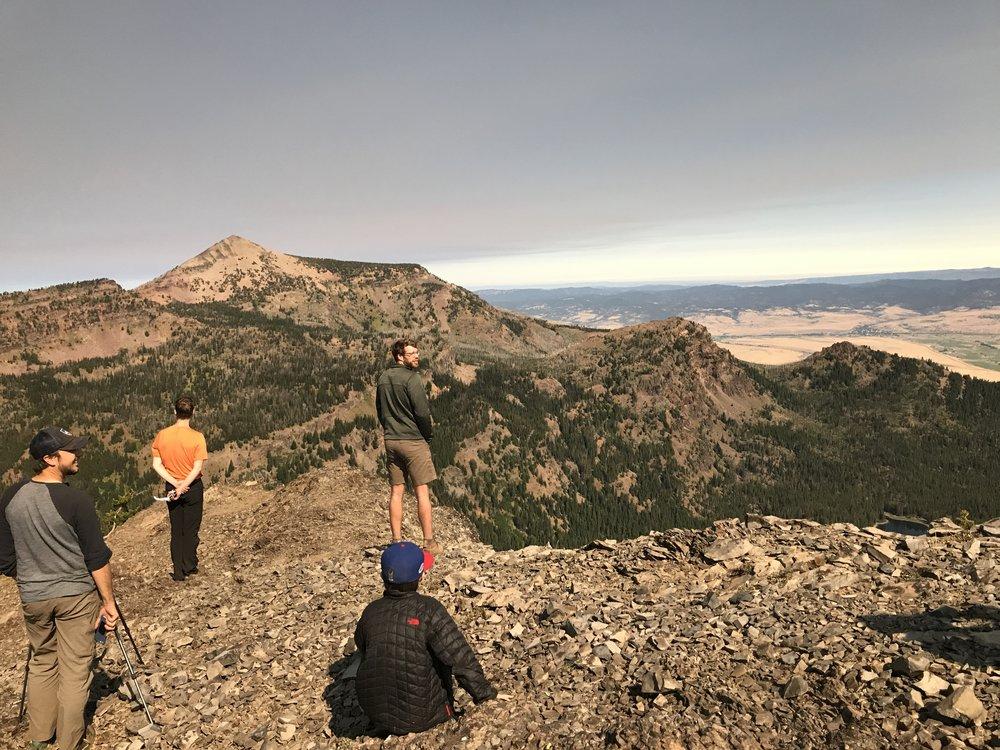 pre-eclipse colors - Above High Lake, Oregon