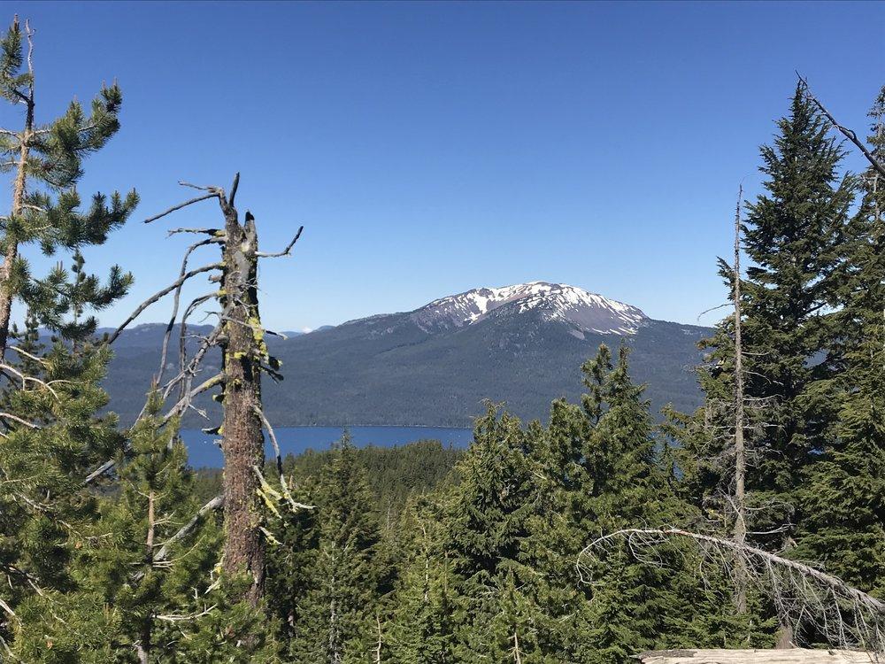 mt.bailey - Diamond Lake below, Oregon