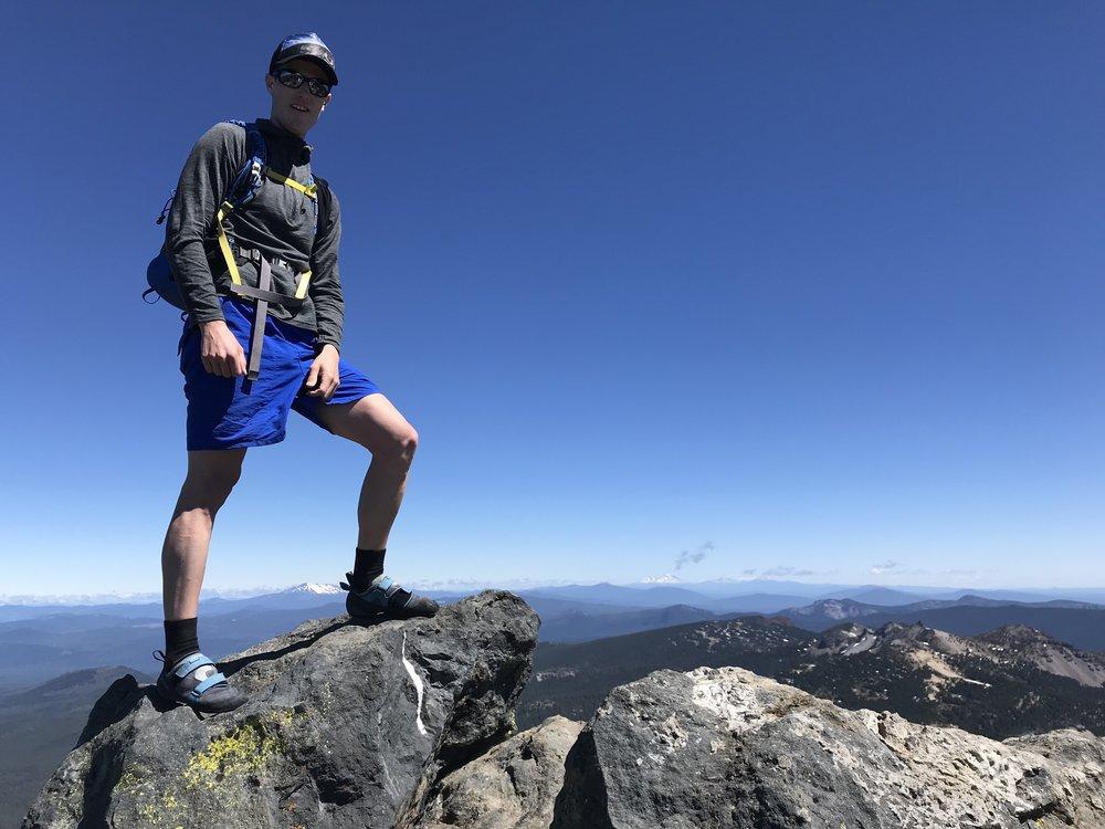 summit - Mt. Thielsen, Oregon