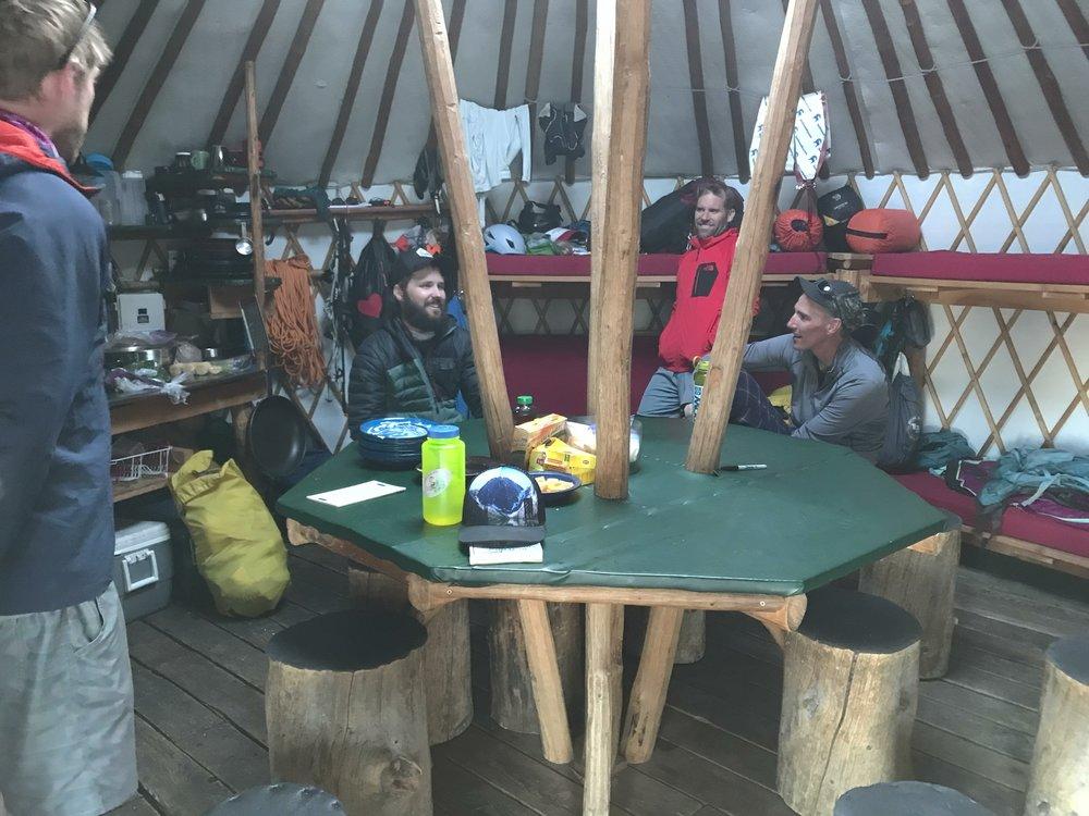 post-tour recap - Williams Peak Yurt, Idaho