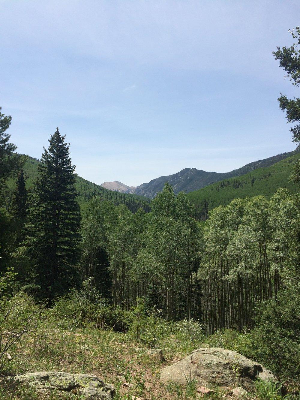 truchas peak 13,102 - Pecos Wilderness, New Mexico