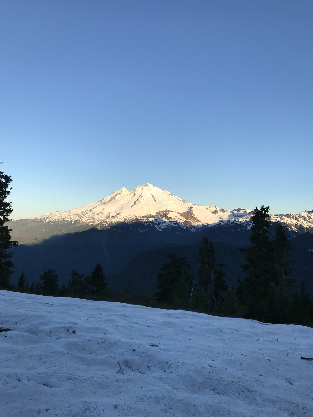 Mt. baker makes an appearance  - North Cascades, WA