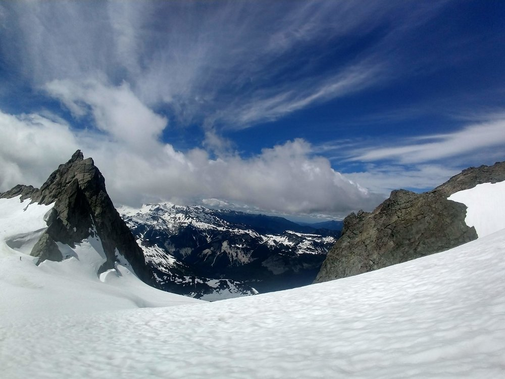 parting shot from the sulphide glacier - North Cascades, WA