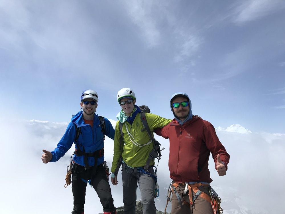 5.8 amfi's saturday summit - On top of Mt. Shuksan, WA