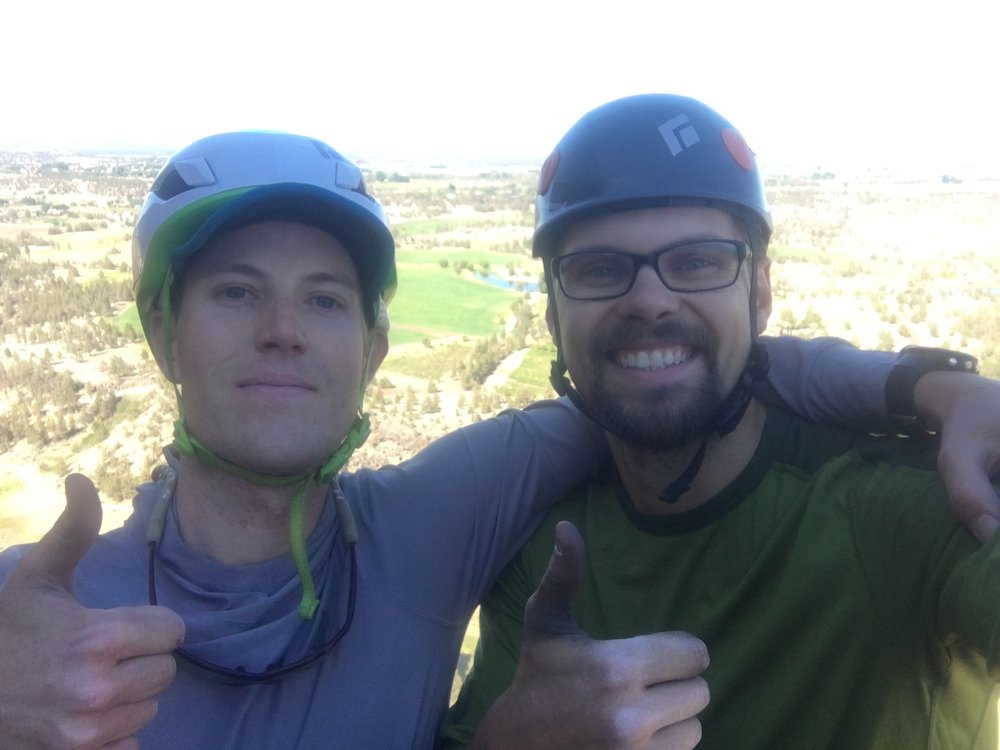 5 pitches of fun - Smith Rock, OR