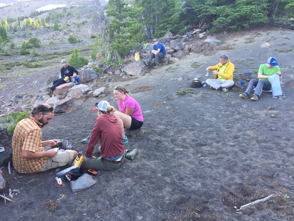 suppertime - Three Sisters Wilderness, OR