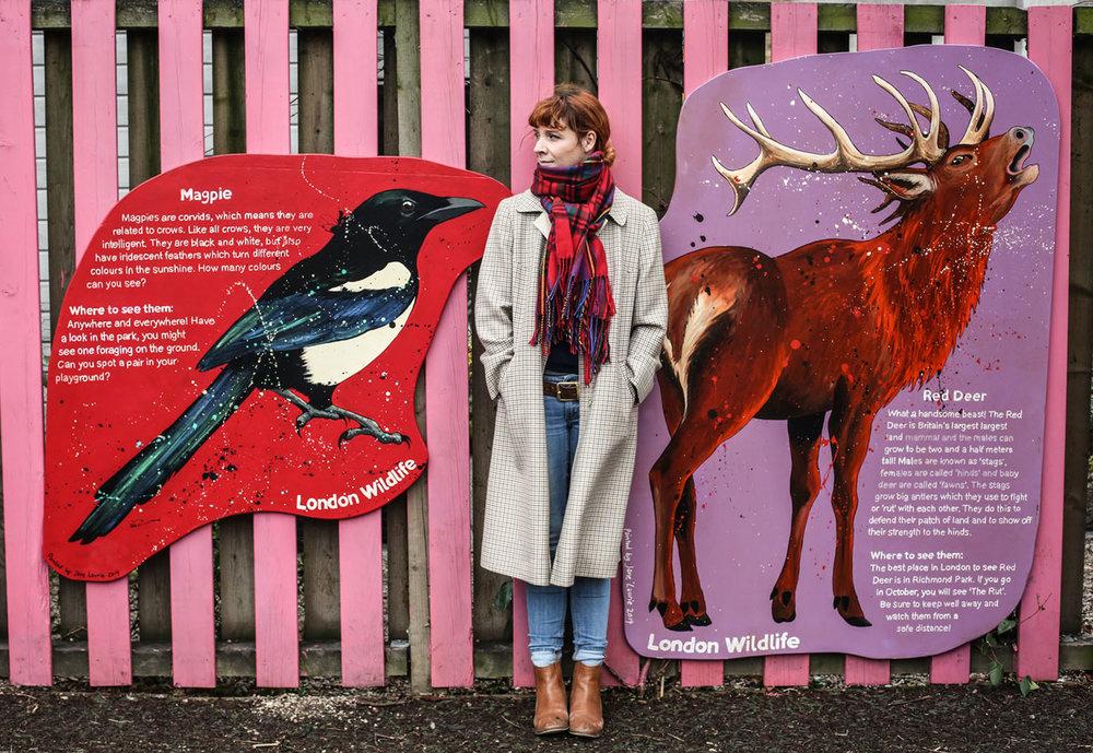 London Wildlife  for Lauriston School in Hackney, 2016