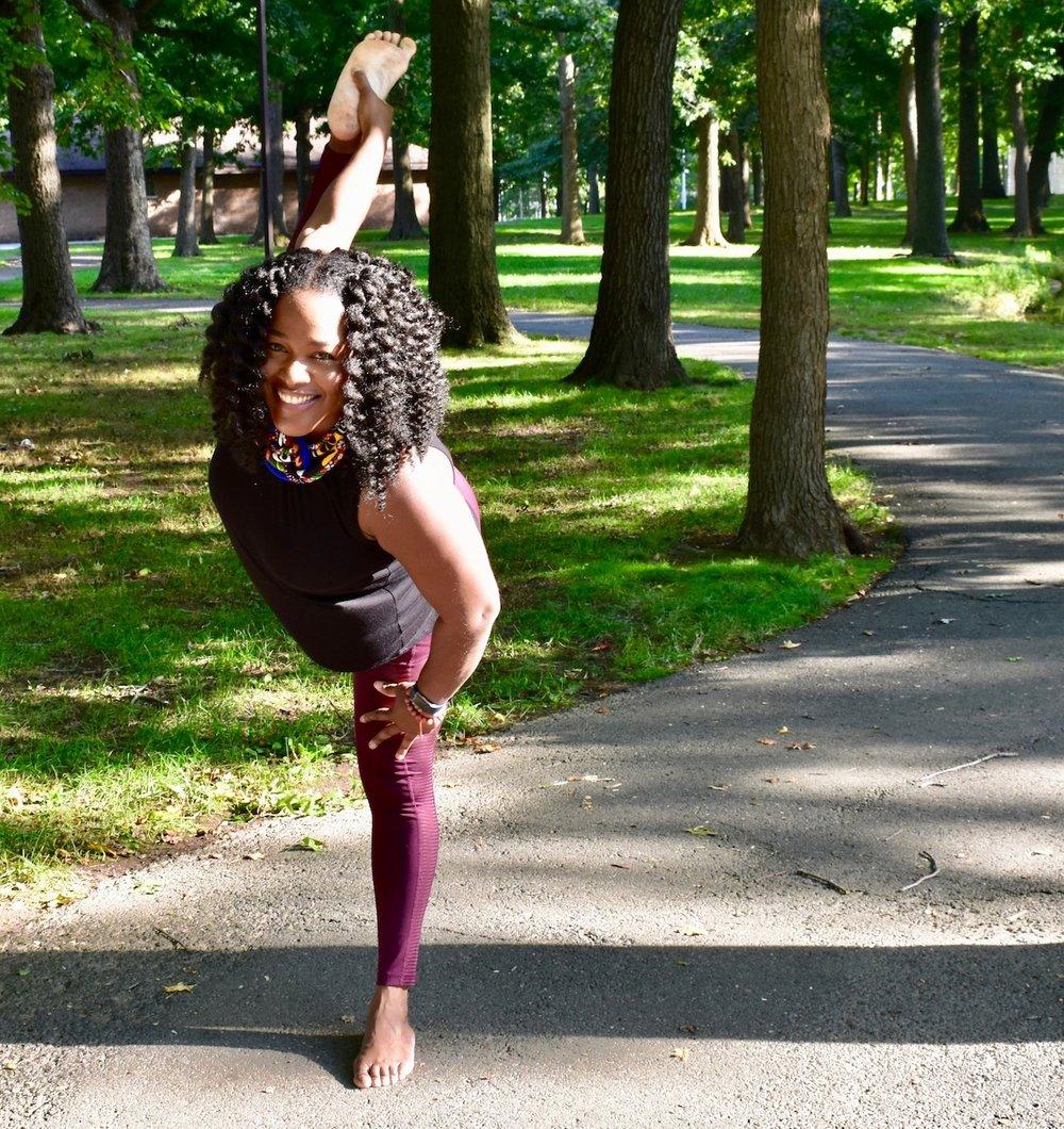 Vanessa Lherisson - 200 hour certified yoga teacher