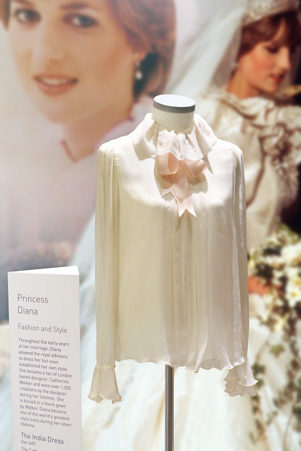 The David & Elizabeth Emanuel designed 'Engagement Blouse'.