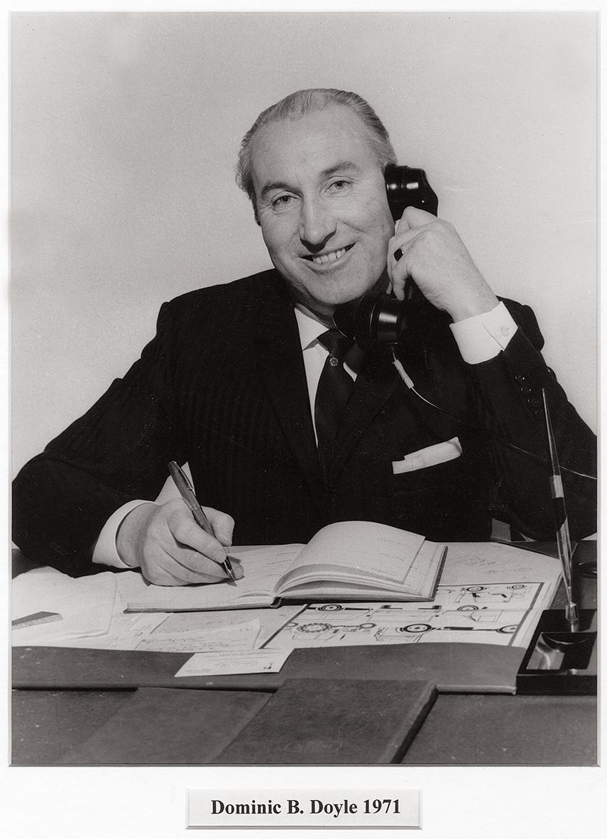 Dominic B Doyle, 1971.