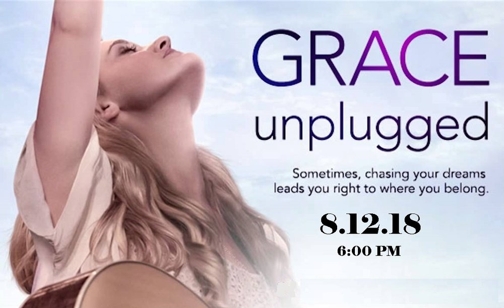 Family Movie Night - We will have pre-movie refreshments in the Family Life Center at 5:00 PM and the movie will be shown in the Sanctuary at 6:00 PM. Childcare provided for INFANTS only. Grace Unplugged is a movie about a talented young singer and aspiring songwriter whose Christian faith is tested when she defies her worship-pastor father and family ties and pursues pop-music stardom. This is a moving and inspiring film that explores the true meaning of success.Grace Trey has just turned eighteen. She sings in the praise band at church under the direction of her father, Johnny Trey, a former professional singer who prefers the down-on-the-suburban-farm life to touring. Dad and daughter fight about all sorts of generic family stuff, but mostly about her not following his direction during the praise numbers.When a talent show cover of Johnny's biggest hit renews interest, Johnny's friend and former manager, Frank