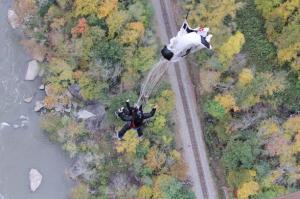 Nikki's tandem BASE jump