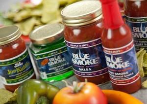 Blue Smoke Salsa
