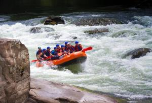 Adventures on the Gorge rafting