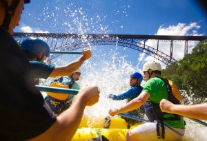 Bridge Day weekend rafting packages
