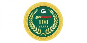GoMart-100-year-logo