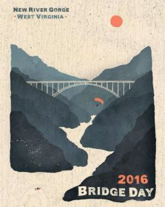 The-Fayette-County-Chamber-has-announced-this-year's-Bridge-Day-Poster-winner-TDTank's-artwork-w